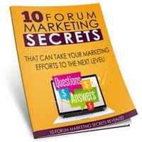 Forum Marketing Mastery 101 1