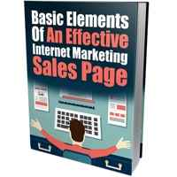 Basic Elements of an Effective IM Sales Page 1