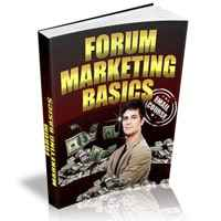 Forum Marketing Basics 1
