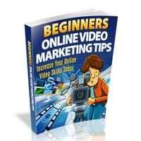 Beginners Online Video Marketing Tips 1