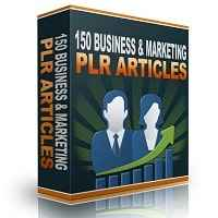 150 Business & Marketing PLR Articles