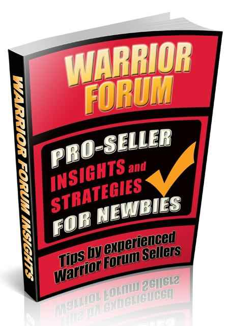Warrior Forum Pro-Seller Insights and Strategies