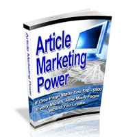 Article Marketing Power 1