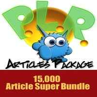 Monster PLR Article Package