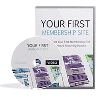 Your First Membership Site Video