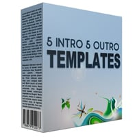 5 Intro and 5 Outro Powerpoint Templates