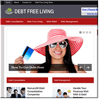 Debt Free PLR Blog