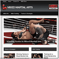 Mixed Martial Arts PLR Blog