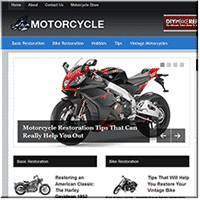 Motorcycle Restoration PLR Blog