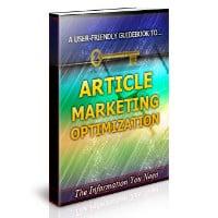 Article Marketing Optimization