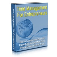 Time Management For The Entrepreneur