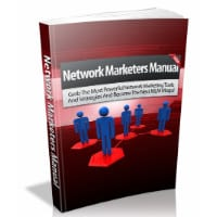Network Marketers Manual