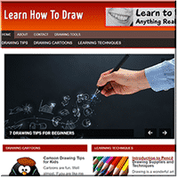 Learn To Draw PLR Site 1