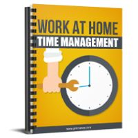 work at home time management