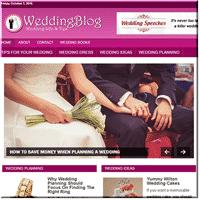 wedding plans plr blog