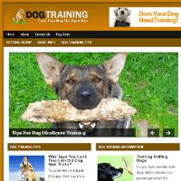 dog training plr blog