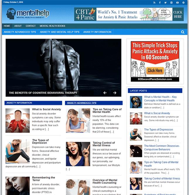 mental help plr blog
