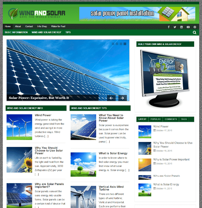wind and solar plr blog